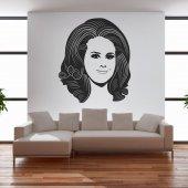 Wandtattoo Adele