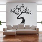 Wandtattoo asiatischer Baum