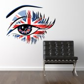 Wandtattoo Auge London