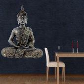 Wandtattoo Buddha