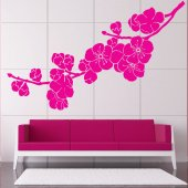 Wandtattoo Kirschblüten
