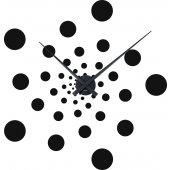 Wandtattoo-Uhr Illusion