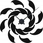 Wandtattoo-Uhr Spirale