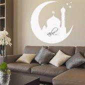 Wandtattoo Velleda weisse Tafel Moschee