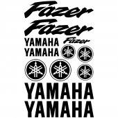Yamaha Fazer Aufkleber-Set
