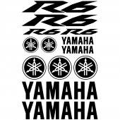 Yamaha R6 Aufkleber-Set