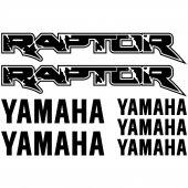 Yamaha RAPTOR Aufkleber-Set