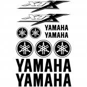 Yamaha XTX Aufkleber-Set