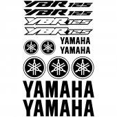 Yamaha YBR 125 Aufkleber-Set