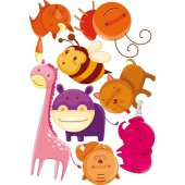 kit Stickers animaux et insectes