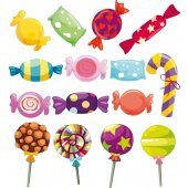 Stickers 15 bonbons