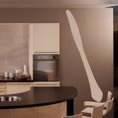 Adesivo Murale coltello