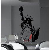 Autocolante decorativo estátua da liberdade