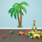 Autocolante decorativo infantil Palmeira