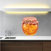 Autocolante decorativo jam jar