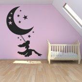 Autocolante decorativo lua