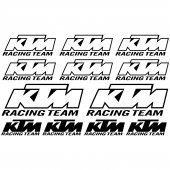 Autocolante ktm racing team