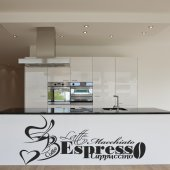 Café Quote Wall Stickers