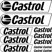 castrol Decal Stickers kit