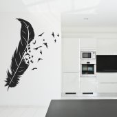 Feather Wall Stickers