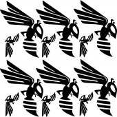 frelon hornet Decal Stickers kit