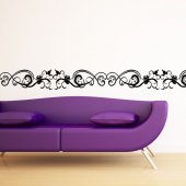 Frieze Patterns Wall Stickers