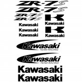 Kawasaki ZR-7s Decal Stickers kit