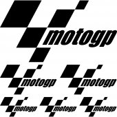 Komplet  naklejek - Moto GP