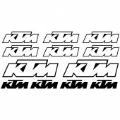 Ktm Decal Stickers kit