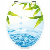 Leaves - Toilet Seat Decal Sticker