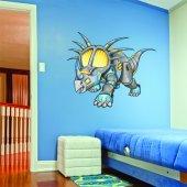 Naklejka ścienna Dla Dzieci - Triceratops