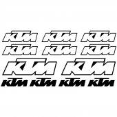 Naklejka Moto - KTM