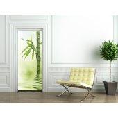 Naklejka na Drzwi - Bambus