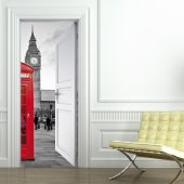 Naklejka na Drzwi - London