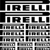 Pirelli Aufkleber-Set