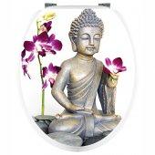 Sticker WC Buddha