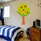 Stickers Arbre Fruits