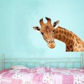 Stickers Girafe