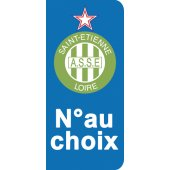 Stickers Plaque Saint Etienne