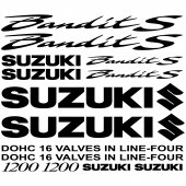 Suzuki 1200 bandit S Decal Stickers kit