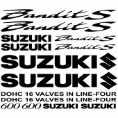 Suzuki 600 bandit S Decal Stickers kit