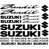 Suzuki bandit Decal Stickers kit