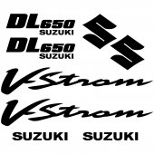 Suzuki DL 650 Vstrom  Decal Stickers kit