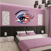 Usa Eye Wall Stickers