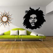 Vinilo decorativo Bob Marley