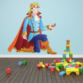 Vinilo infantil príncipe