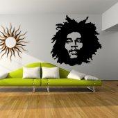 Wandtattoo Bob Marley