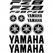 Yamaha FZ8 Decal Stickers kit