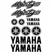 Yamaha Majesty 125 Decal Stickers kit