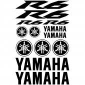 Yamaha R6 Decal Stickers kit